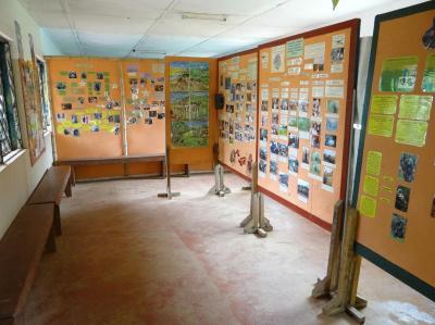 Sala de educación ambiental de Tacugama Chimpanzee Sanctuary