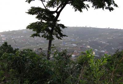 Presión de establecimientos humanos sobre las selvas de Sierra Leone